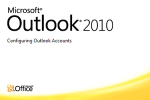 setup outlook 2010