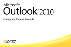 setup outlook 2010